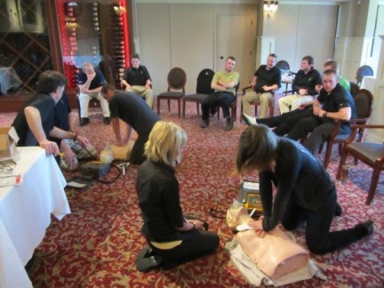 Victoria Golf Club staff / CPR training