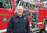 Christine van Reeuwyk/Oak Bay News Oak Bay Firefighter John Ballantyne heads to Peru for a Firefighters Without Boarders Canada from March 1 to 20.