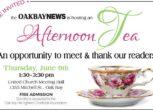 community tea 2016